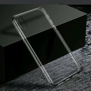 Clear rubber iphone X case